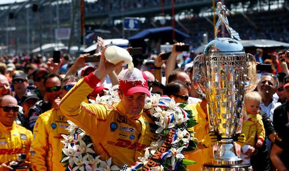 Why does the Indy 500 winner drink milk? BIZARRE tradition explained
