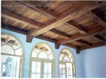 Faux Wood Ceiling Decor Wood Ceiling Panels Faux