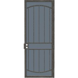 Gatehouse Gibraltar Silverado Steel Security Door Common 36 In X 96 In Actual 38 In X 95 5 In With Images Security Screen Door Security Door Door Sweep