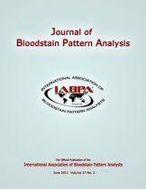 International Association Of Blood Pattern Analysis Forensic