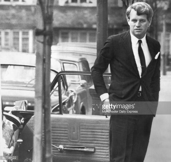 News Photo : American politician Robert Kennedy , younger...