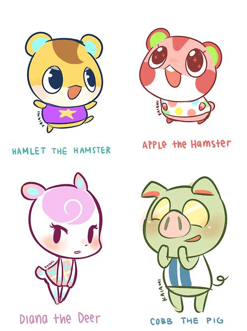 Animal Crossing New Leaf Animal Crossing Villagers Animal