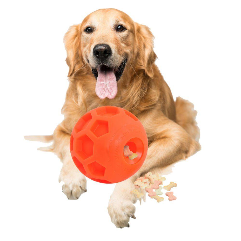 Large Size Dog Treat Ball Interactive Treat Dispensing Dog Toy Pet