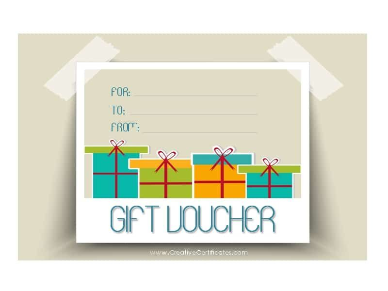 A gift voucher template or a gift certificate template is a perfect - remittance template