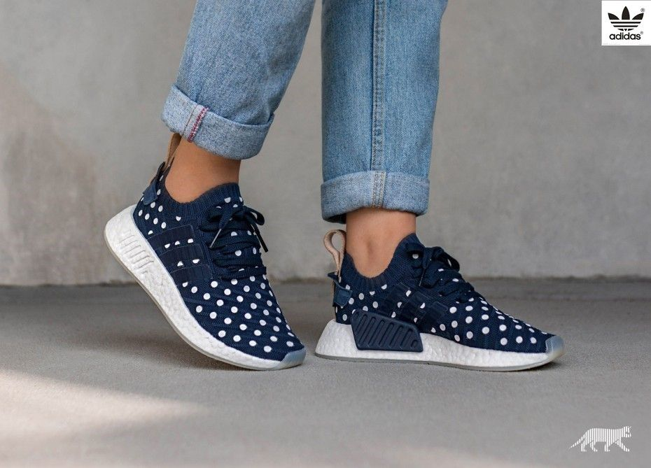 best loved 339d6 bf7b1 Coolest sneakers ever! adidas NMD R2 PK W (Collegiate Navy   Collegiate Navy    Ftwr White)