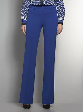 The 7th Avenue Bootcut City Double Stretch Pant - Bold Colors - Petite