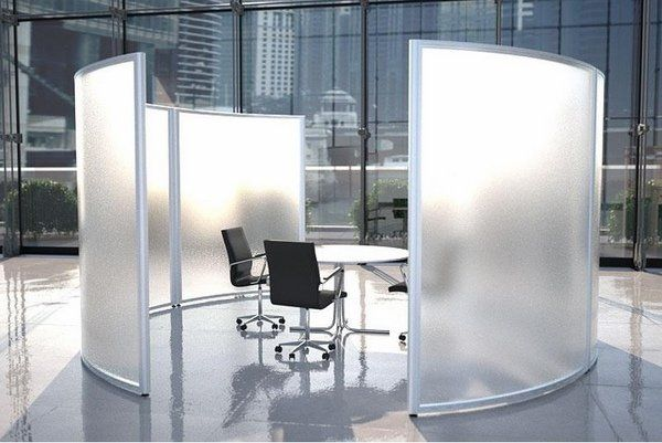 Modern office partition walls mobile screen panels office for Office dividers modern