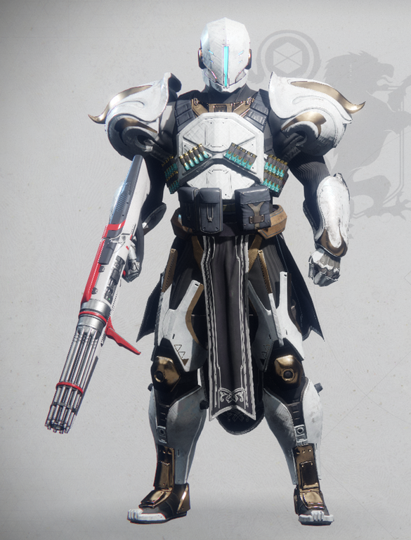Destiny Fashion: Almost Finished With My First Titan Look! : DestinyFashion