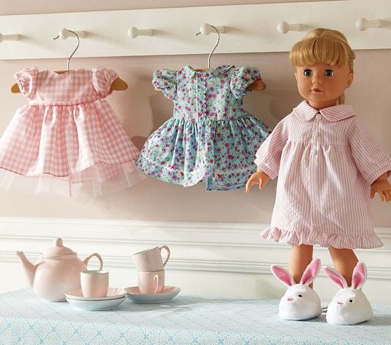 peg rack low for girls room for doll clothes