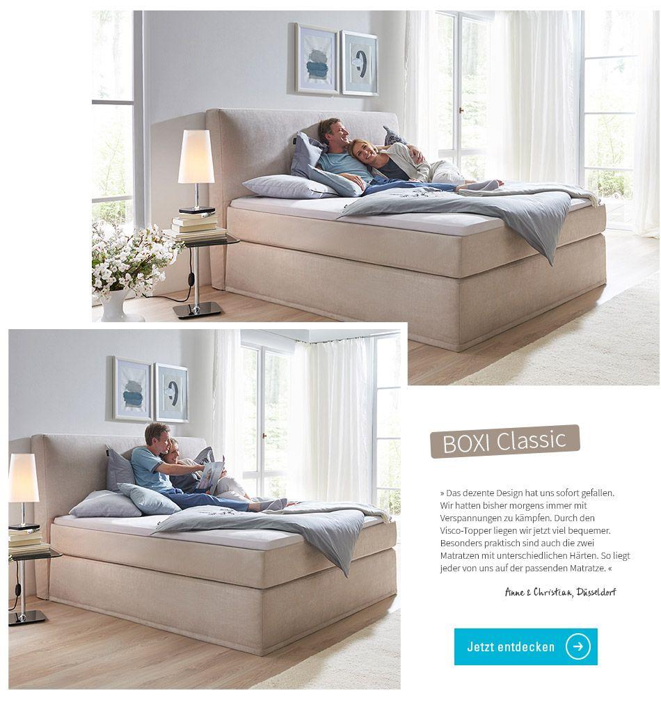 Milieus Classic Boxspringbett Bett Schlafzimmer