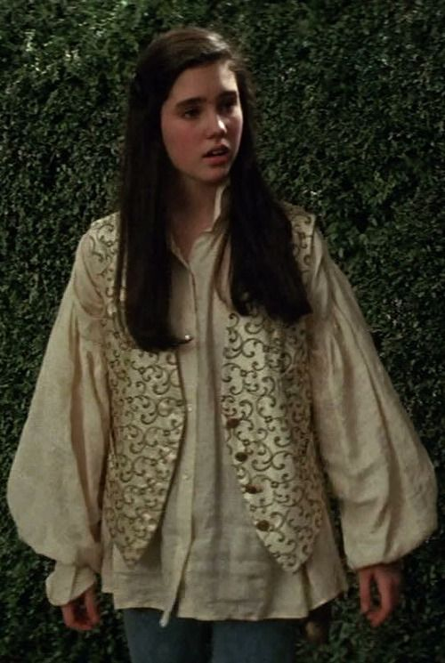 hiya, do you have any stills of sarah's waistcoat? i've ... Labyrinth 1986 Sarah
