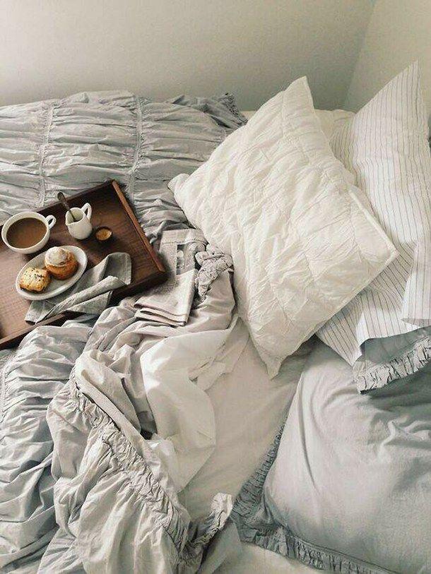 Bed Bedroom Comfy Cute Food Good Morning Morning Photography Tumblr Zavtrak V Postel Uyutnyj Ugolok Interer