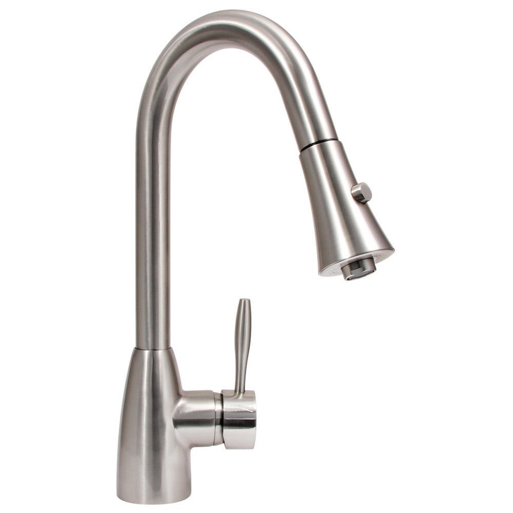 Dyconn Faucet Platinum Series Gila  Contemporarymodern Brushed Beauteous Brushed Nickel Kitchen Faucet Design Ideas