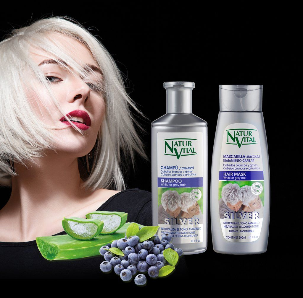 Naturvital Coloursafe Silver Neutraliza El Tono Amarillento De