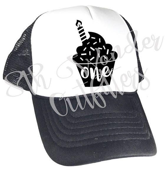 First Birthday Youth Trucker Hat