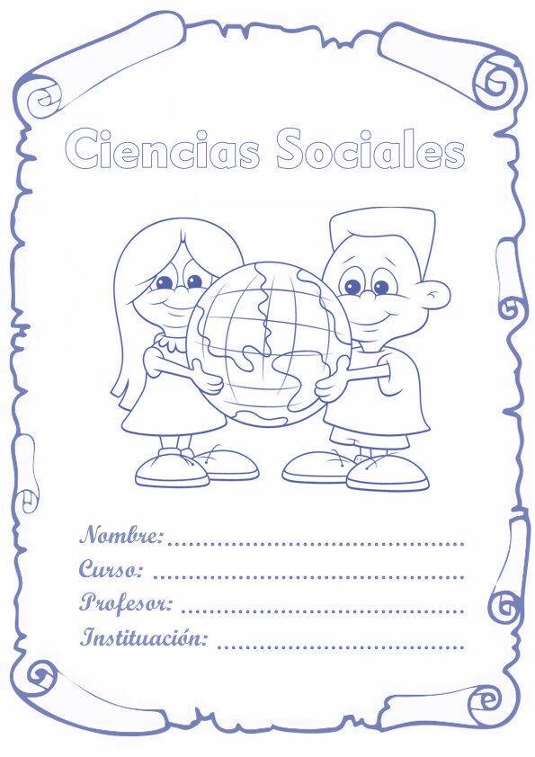 carátula de ciencias sociales | Caratulas de ciencias ...