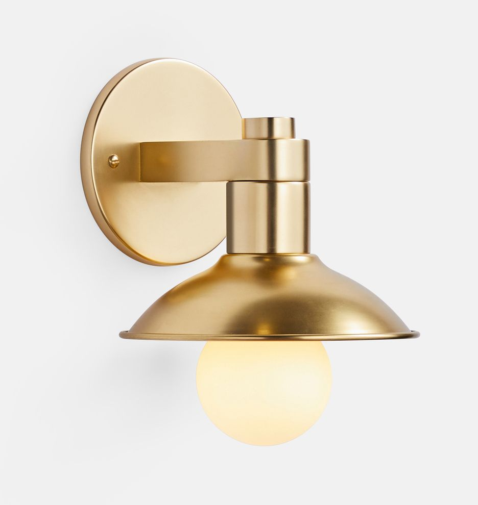 Crawford Single Wall Sconce Rejuvenation In 2020 Scandinavian Wall Sconces Wall Lights Wall Sconces
