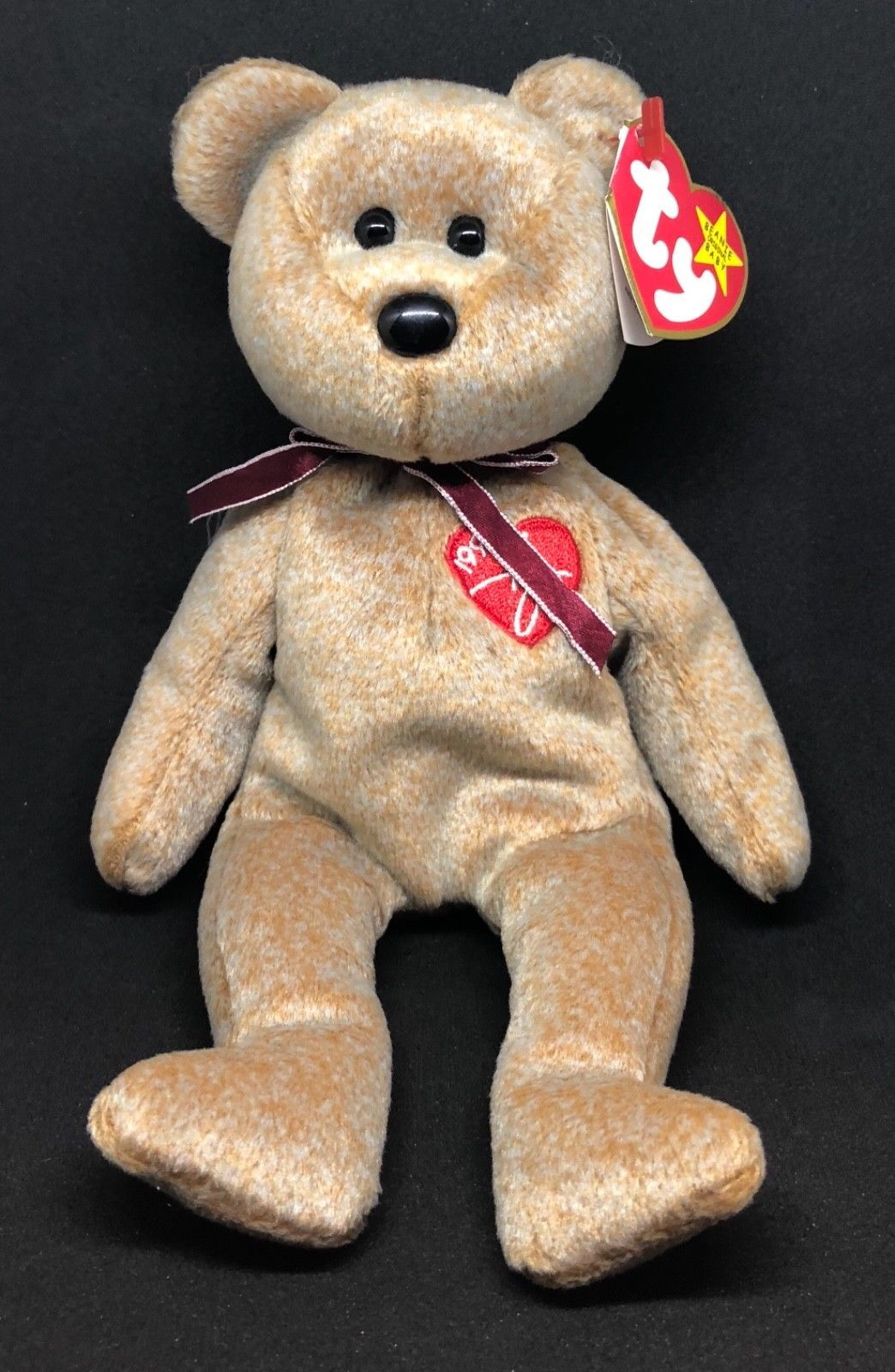 a2d101ce460 Ty Beanie Babies Signature Bear Stuffed Animals Plush Toys collectible toys