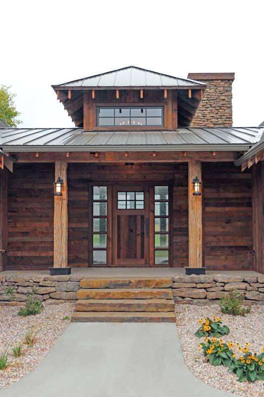 Plan 18846ck Rustic Mountain Ranch House Plan Mountain Ranch House Plans Rustic Mountain Homes Rustic Houses Exterior