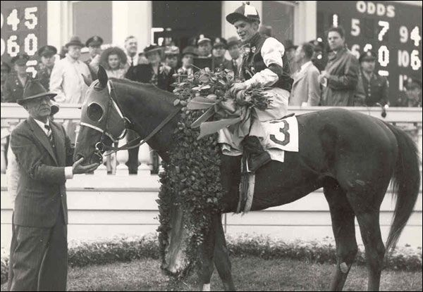 Triple Crown Winners  Assault  Daily Racing Form  Horse