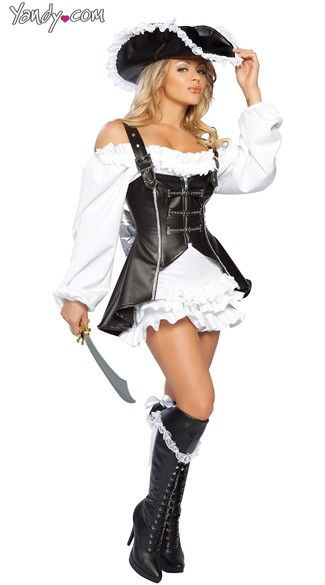 2c497d7b8a1 Pirate Maiden Costume | Halloween | Pirate halloween costumes, Sexy ...