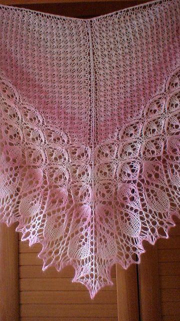Vesnushka 71s Lotus Flower Crochet Knit Cowls Scarves Shawls