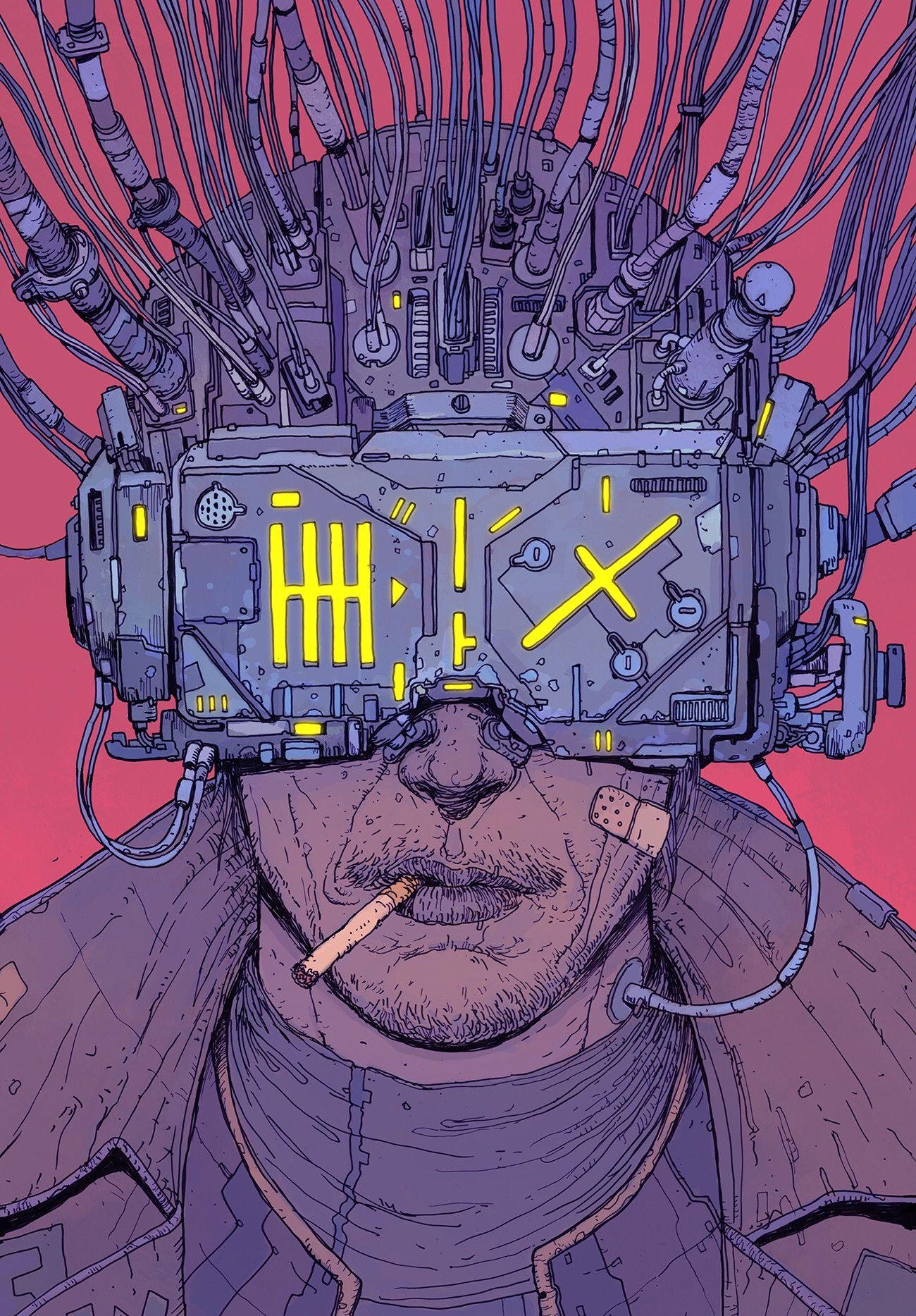 Cyberpunk Wallpapers - Art by Death Burger
