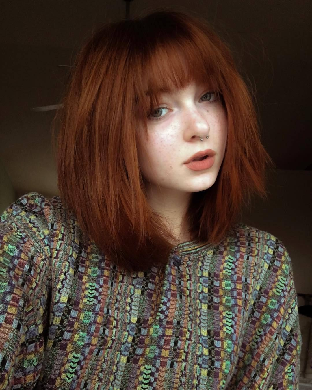 hallucineon more hairstyles on ig @colours_and_hair en 2020 | Maquillage pour rousse, Cheveux mi ...