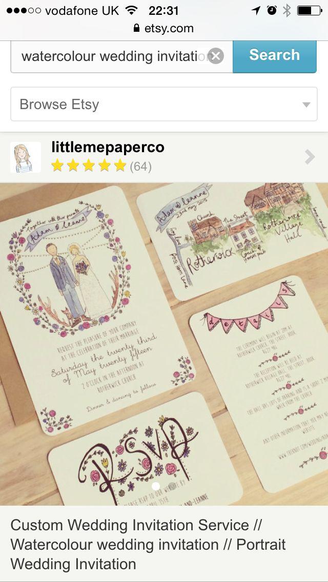 Prettiest wedding invitations ever!
