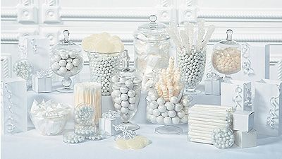 Image result for WHITE CANDY BUFFETS