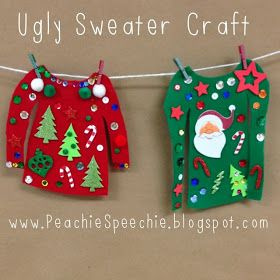 It is ugly sweater season! We are planning a faculty Ugly Sweater Contest next week and I am looking forward to participating. I am also hav...