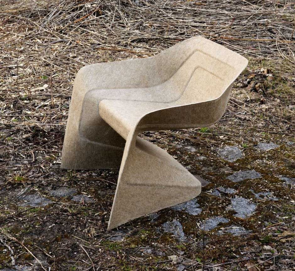 The Sheep Chair by Werner Aisslinger