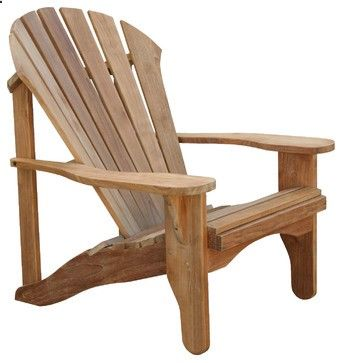 Set of 2, Douglas Nance Avondale Adirondack Chair traditional-outdoor-chairs