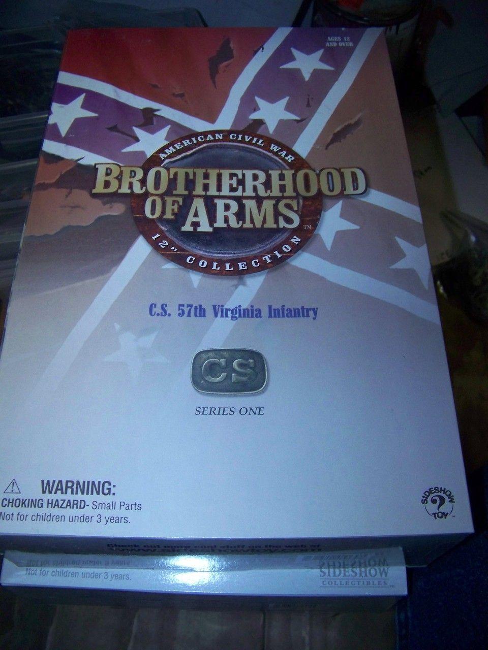 1/6 Sideshow Brotherhood in Arms Civil War Confederate 57th Virginia ...