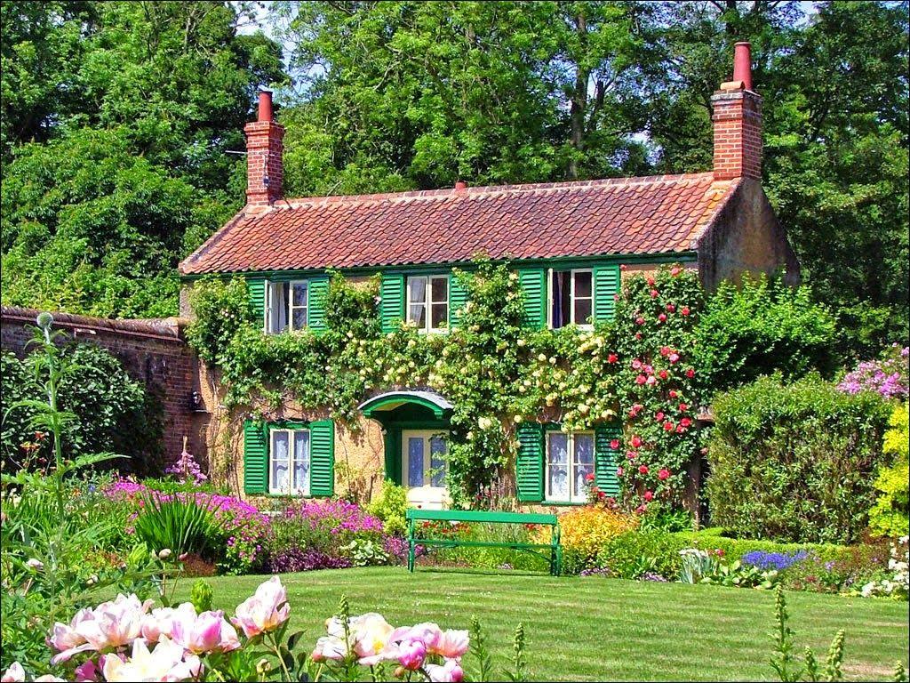 Cottage inglesi cerca con google cottage case for Interni case inglesi