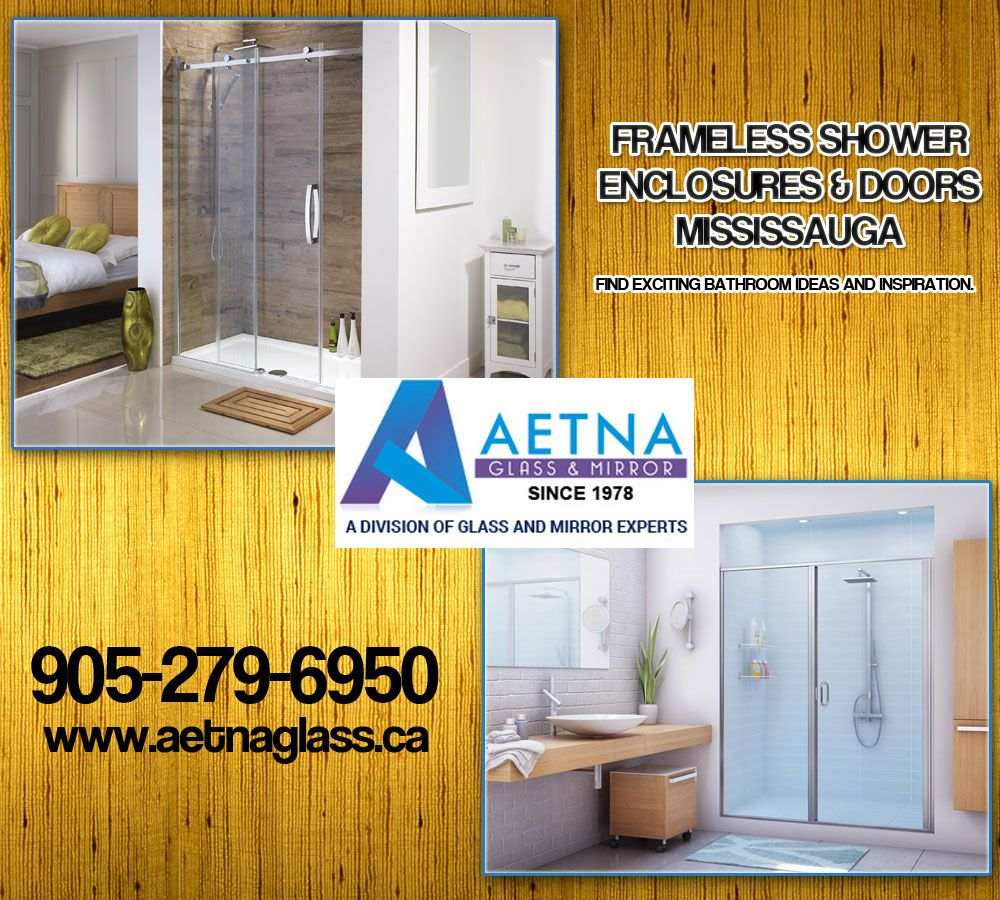 Aetna glass mirror provide service of frameless aetna glass mirror provide service of frameless showerenclosures in mississauga give your bathroom a stunning lookde with easy clean technology planetlyrics Images