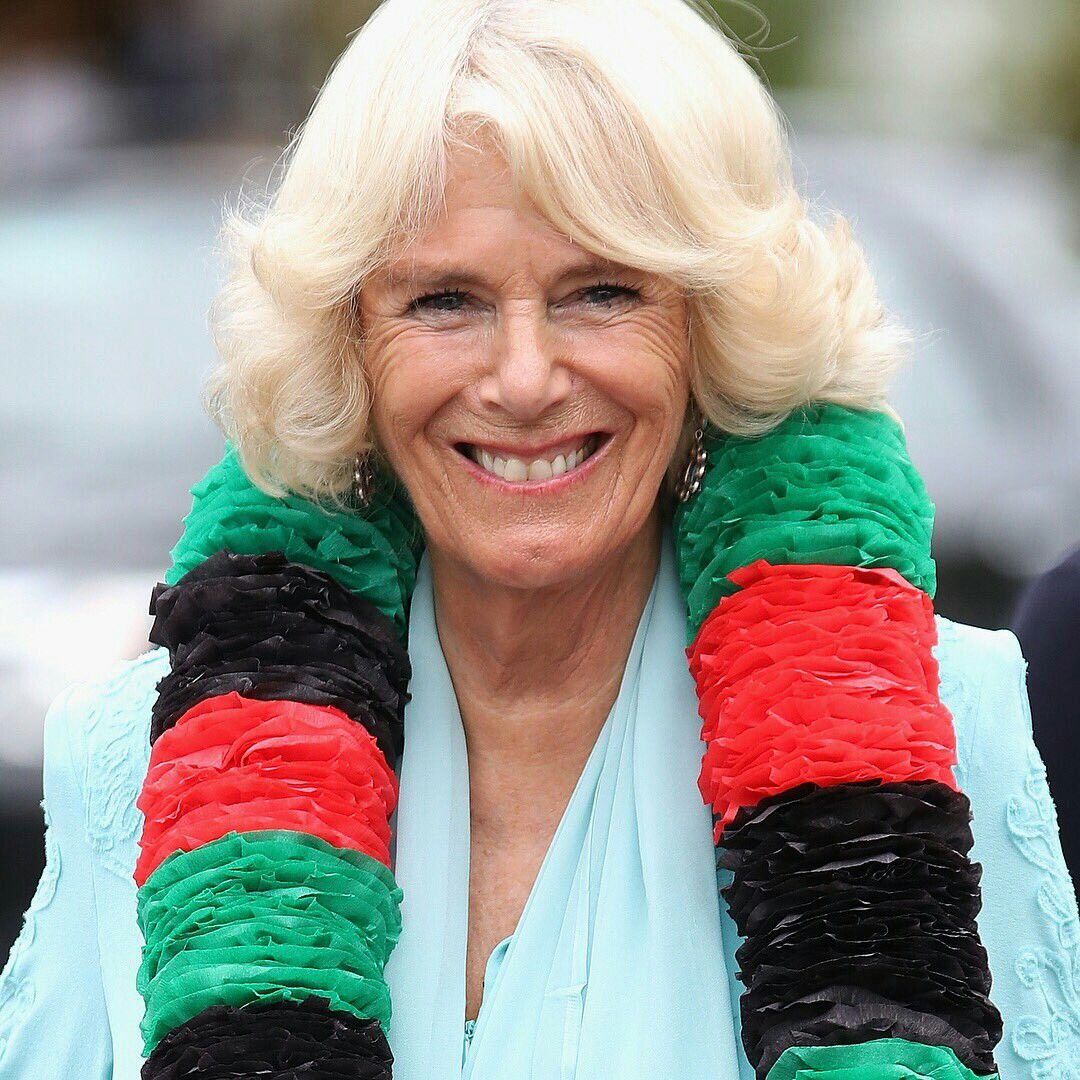 Camilla Parker Bowles Nude   Sarah Lund gives sweater to