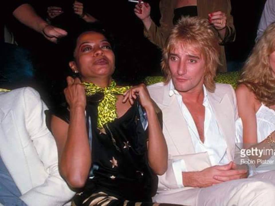 Diana Ross & Rod Stewart | Diana Ross/Supremes | Pinterest | Diana ...