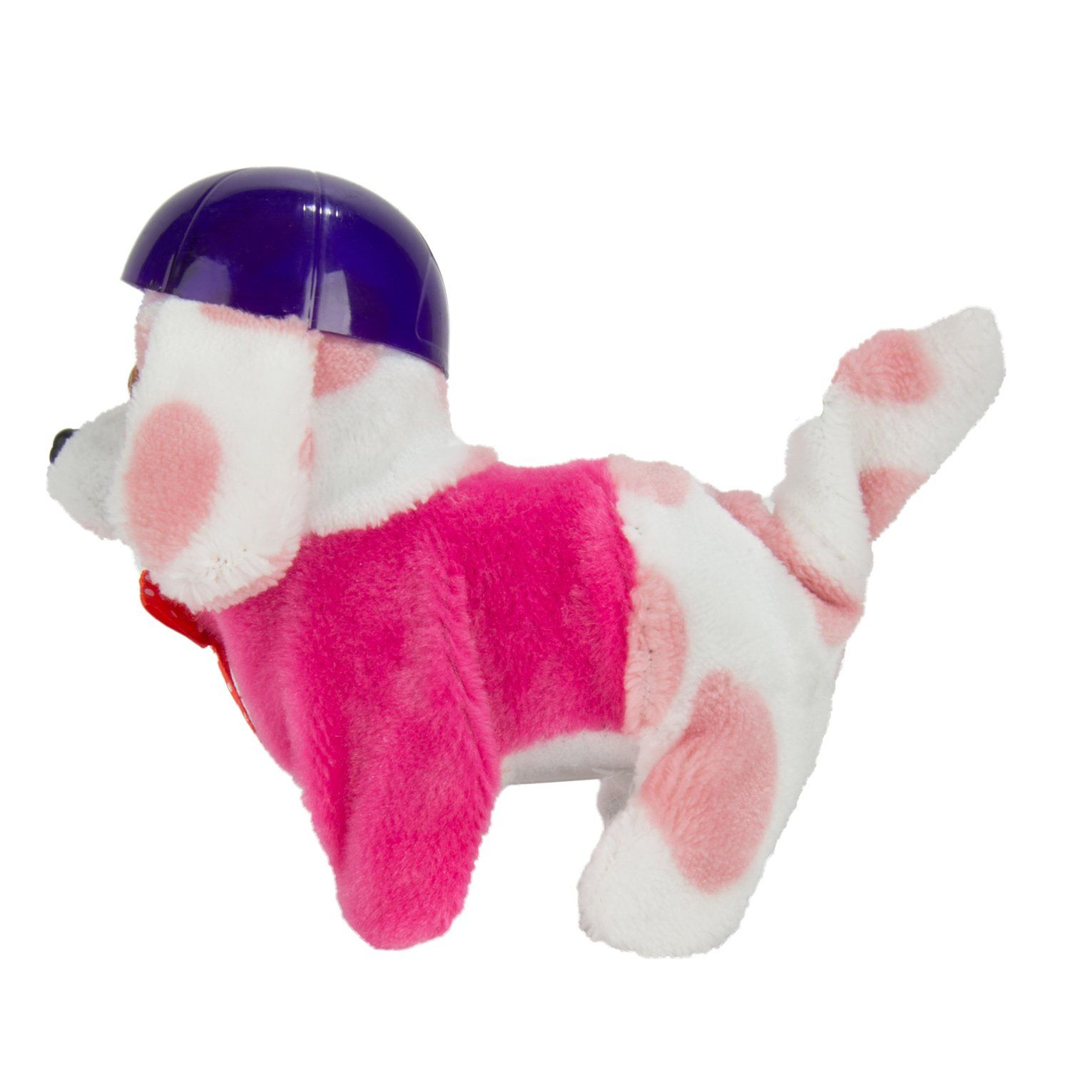 Battery Operated Plush Puppy Toy Dog Walking Barking Tail Wagging