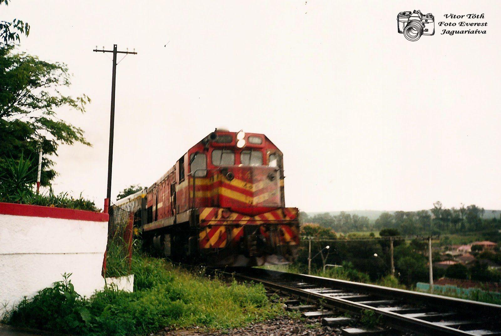 Tudo um Pouco: Ferrovia 02 - Jaguariaíva
