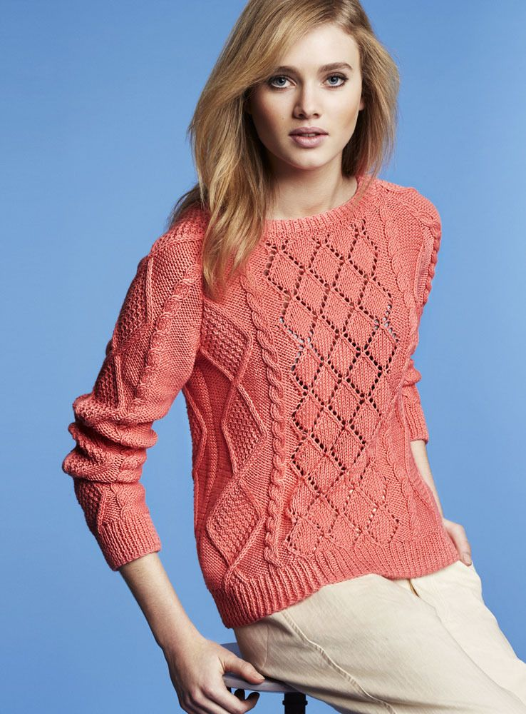 Sweater In Phildar Phil Thalassa Free Another Knitting Site