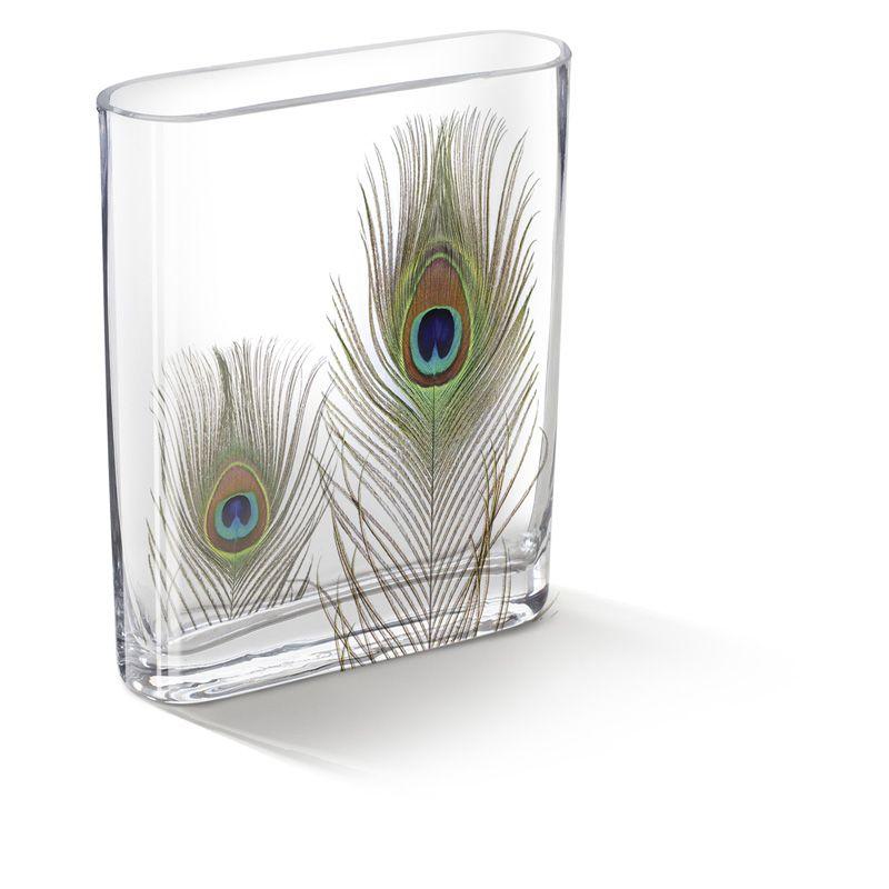Ellie Peacock Plume Vase Mod Podge Crafts Feather Crafts Diy