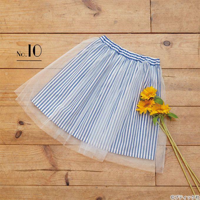 0675325a7fef8 簡単!女の子のかわいいキッズサイズのふんわりチュールスカートの作り方 ...