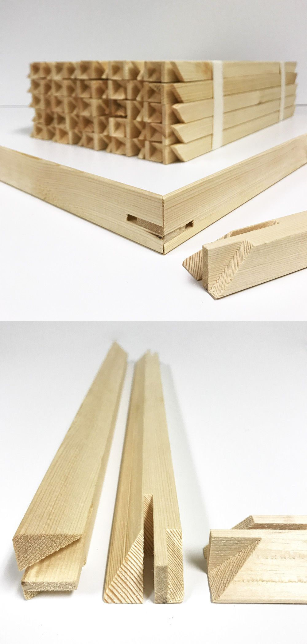 Frames and Supplies 37575: 1.5 Stretcher Bars Canvas Frame ...