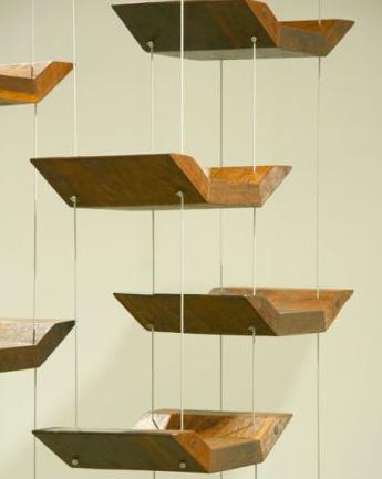 Hanging Book Shelves guiltless reading: hanging bookshelves round-up! | hanging