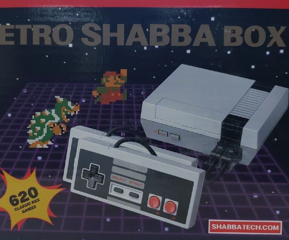 Retro Shabba Box Video Console With Games Built In Games Include