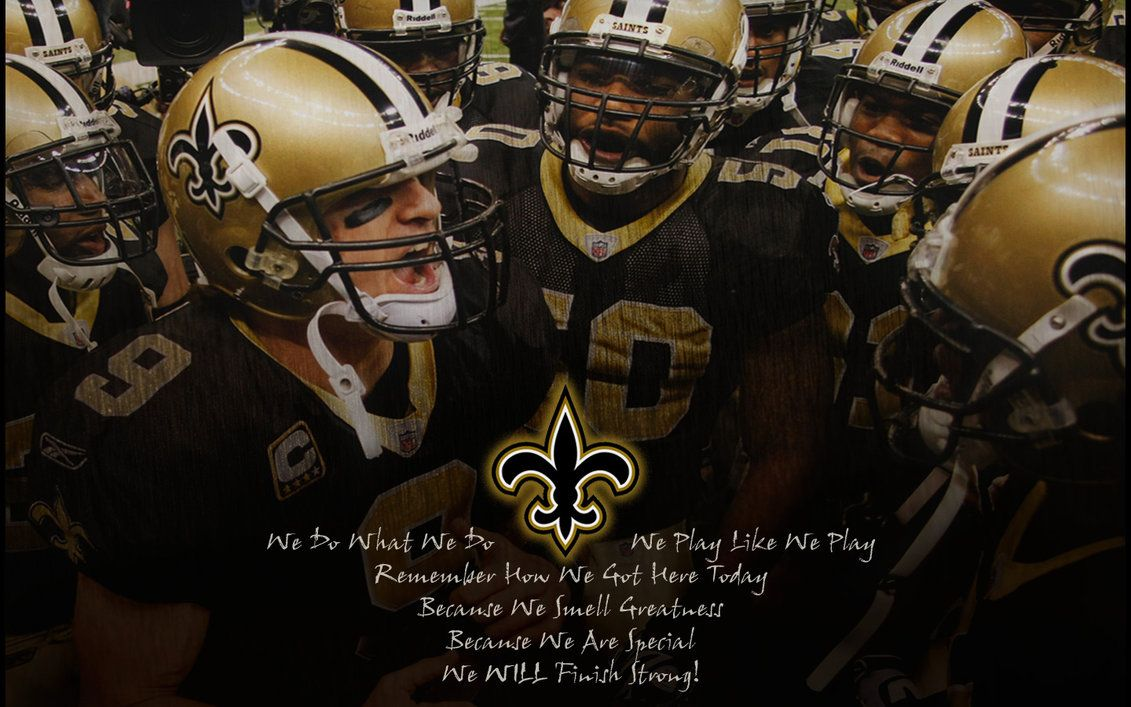 Nfl Saints Huddle Greatness By Yurintroubl On Deviantart