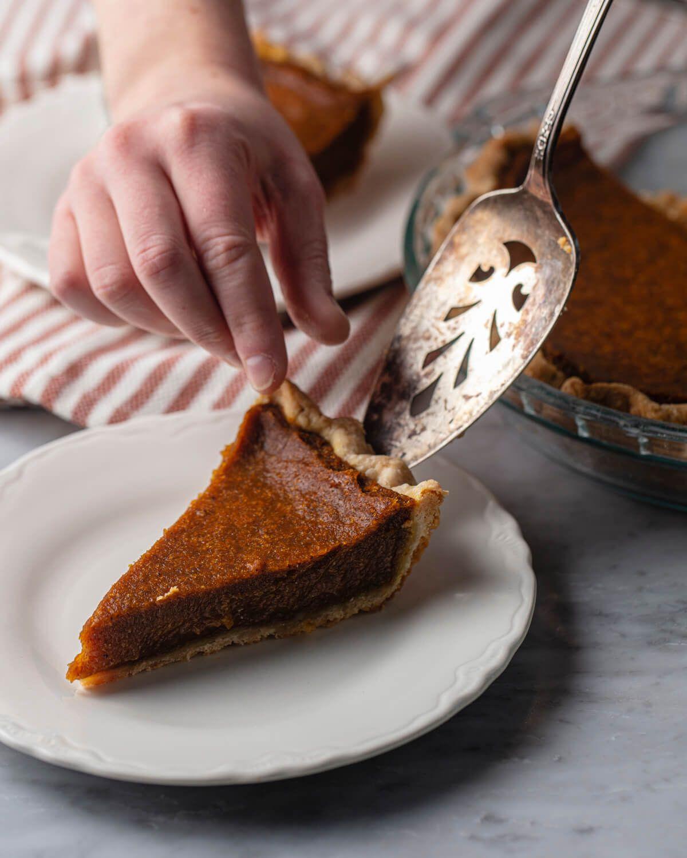 Pumpkin Pie Vegan Pumpkin Pie Food Processor Recipes Pumpkin