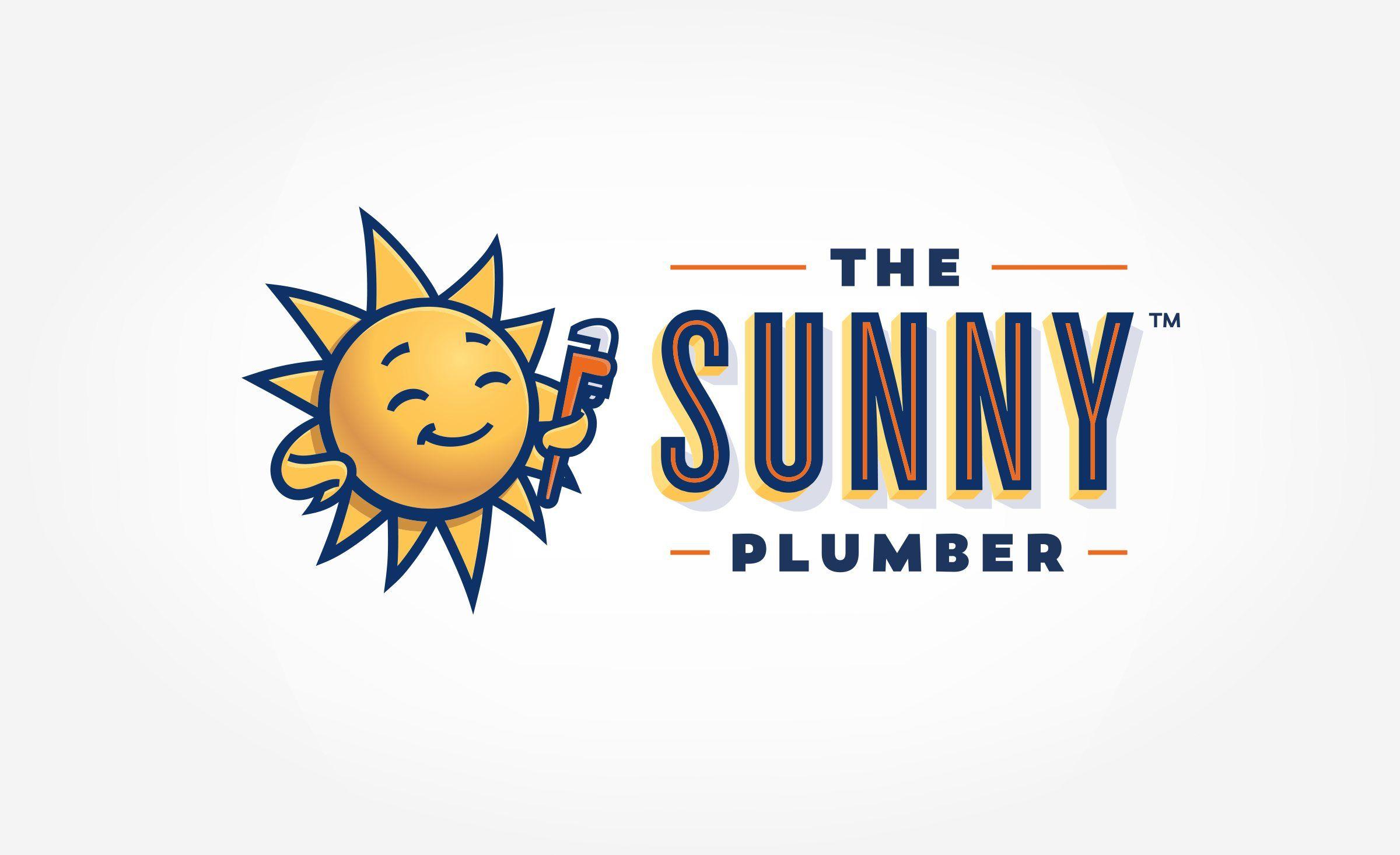 Logo design and brand development for The Sunny Plumber