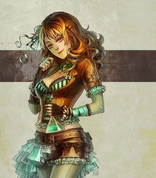 Female Steampunk Alchemist Google Search Art Steampunk Robe